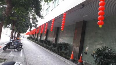 臺北郵件處理中心2018春節布置