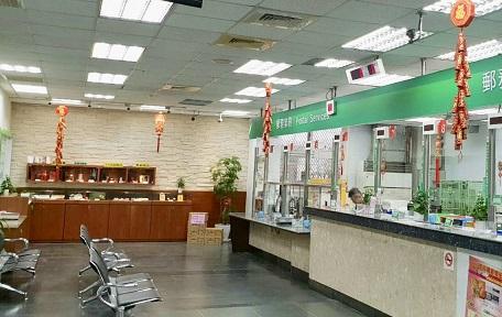 板橋郵局春節佈置