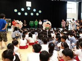 「靜心中小學敬師活動」