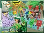「105年郵政壽險全國兒童創意寫生繪畫比賽」活動