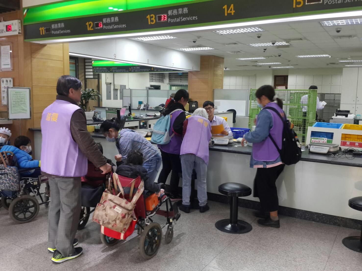 郵我關愛社區-瑞復益智中心參觀臺南郵局