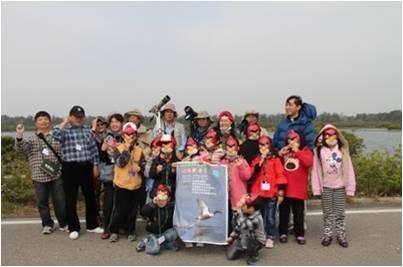 102年「向陽兒童賞鳥趣」關懷活動