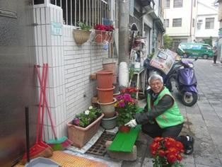 臺南郵局賀歲貼春聯活動