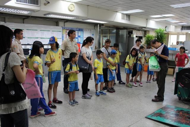 104年6月22日南榮國小參訪基隆郵局