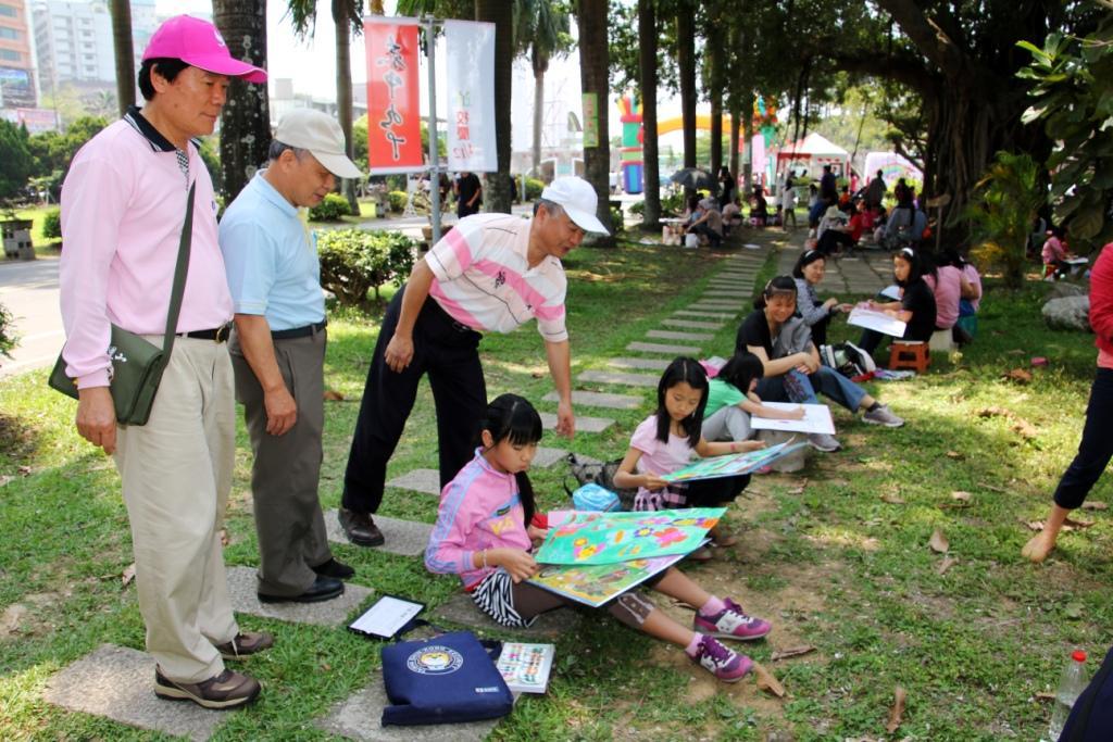 上半年郵政壽險全國兒童創意寫生繪畫比賽