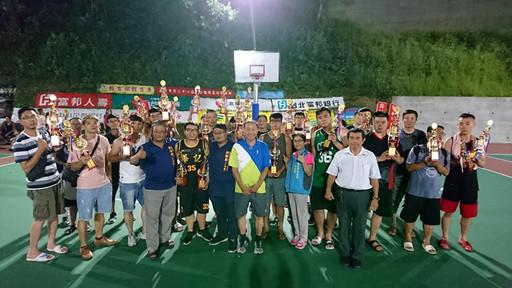 107年7月18日基隆郵局參與第二十七屆新公園杯籃球錦標賽