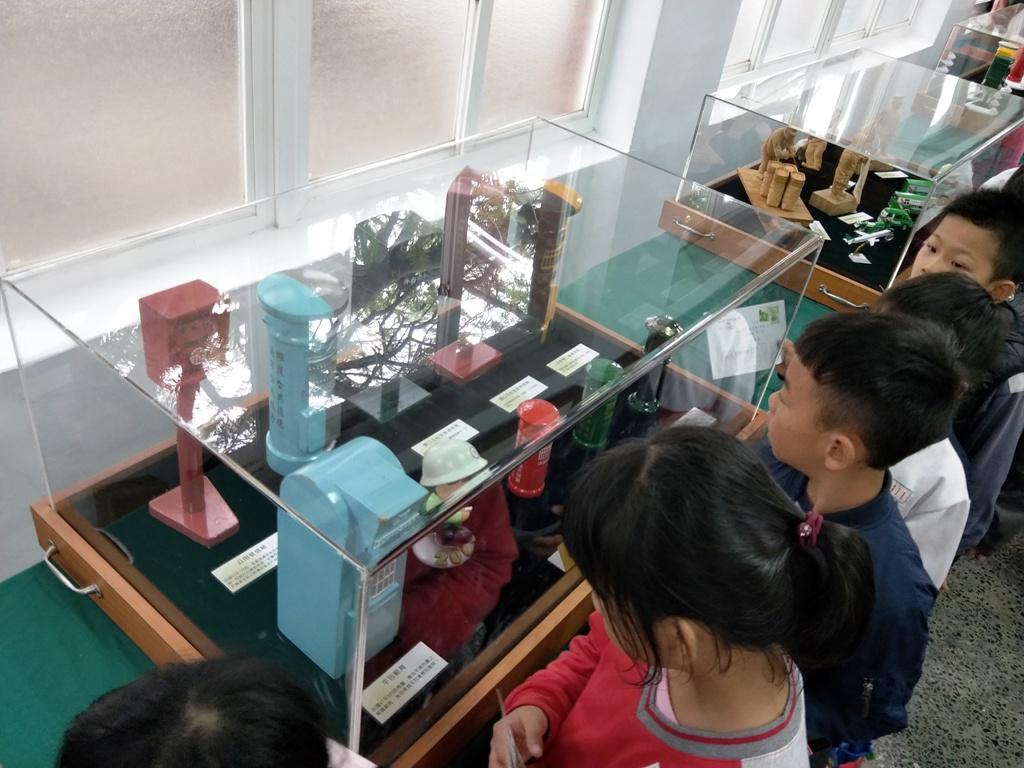 郵政博物館巡迴展--朴子國小
