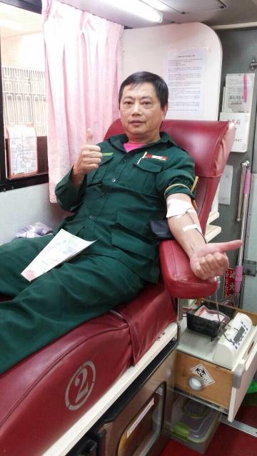 105年03月07日瑞郵局「捐熱血,獻愛心」活動