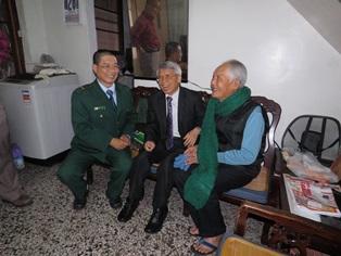 台南郵局105年「關懷獨居長者」活動