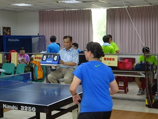 臺南郵局104年大宗客戶桌球邀請賽活動