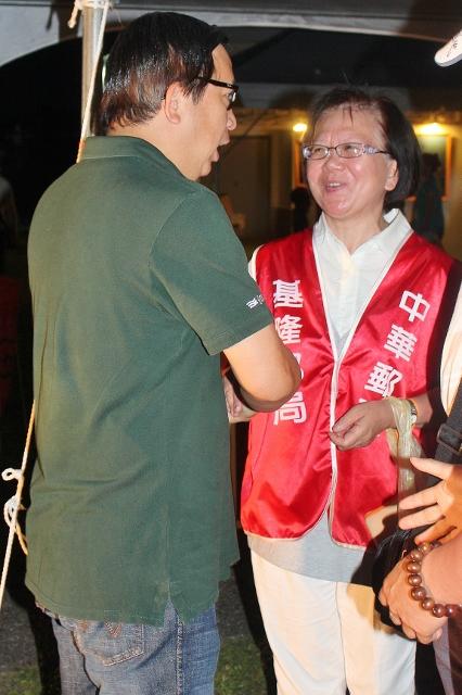 中華郵政翁董事長勉勵員工