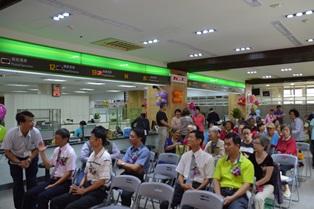 臺南郵局「郵差體驗區」揭幕典禮