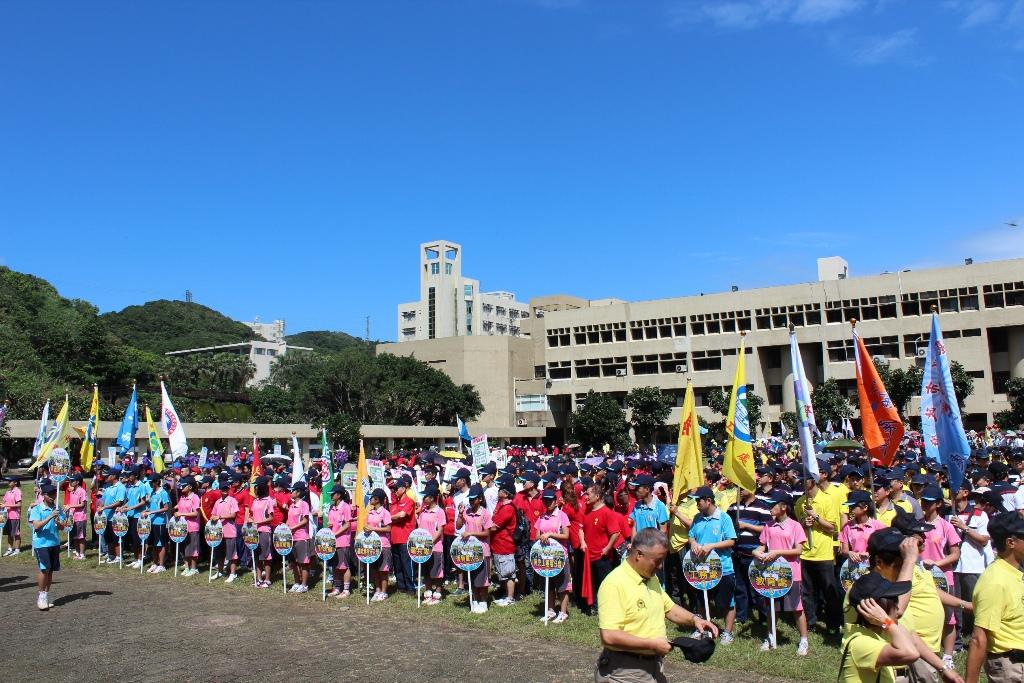 103.5.24.基隆郵局組隊參加「103年基隆市運動會」