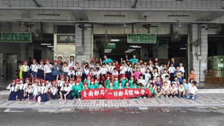 臺南郵局辦理「一日郵局體驗營」活動