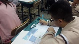 「鋼筆達人講座暨書寫比賽」在長榮高級中學登場