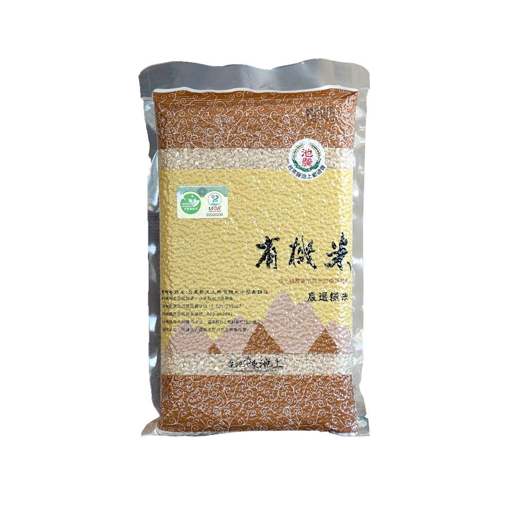 池農有機糙米-1公斤
