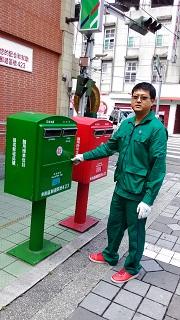 東勢郵局簡一榮