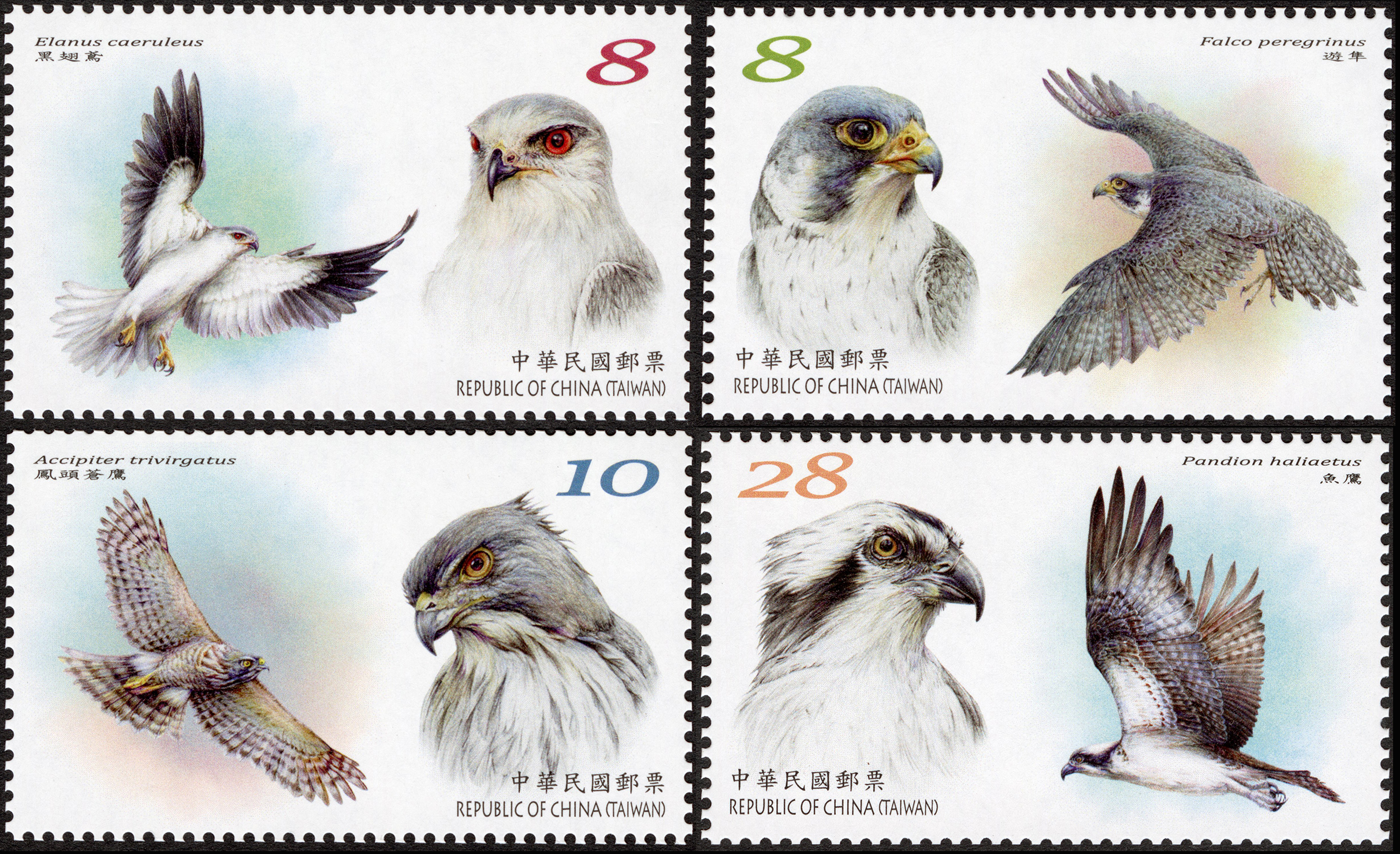Conservation of Birds Postage Stamps (Issue of 2020)