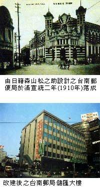 中華郵政股份有限公司臺南郵局