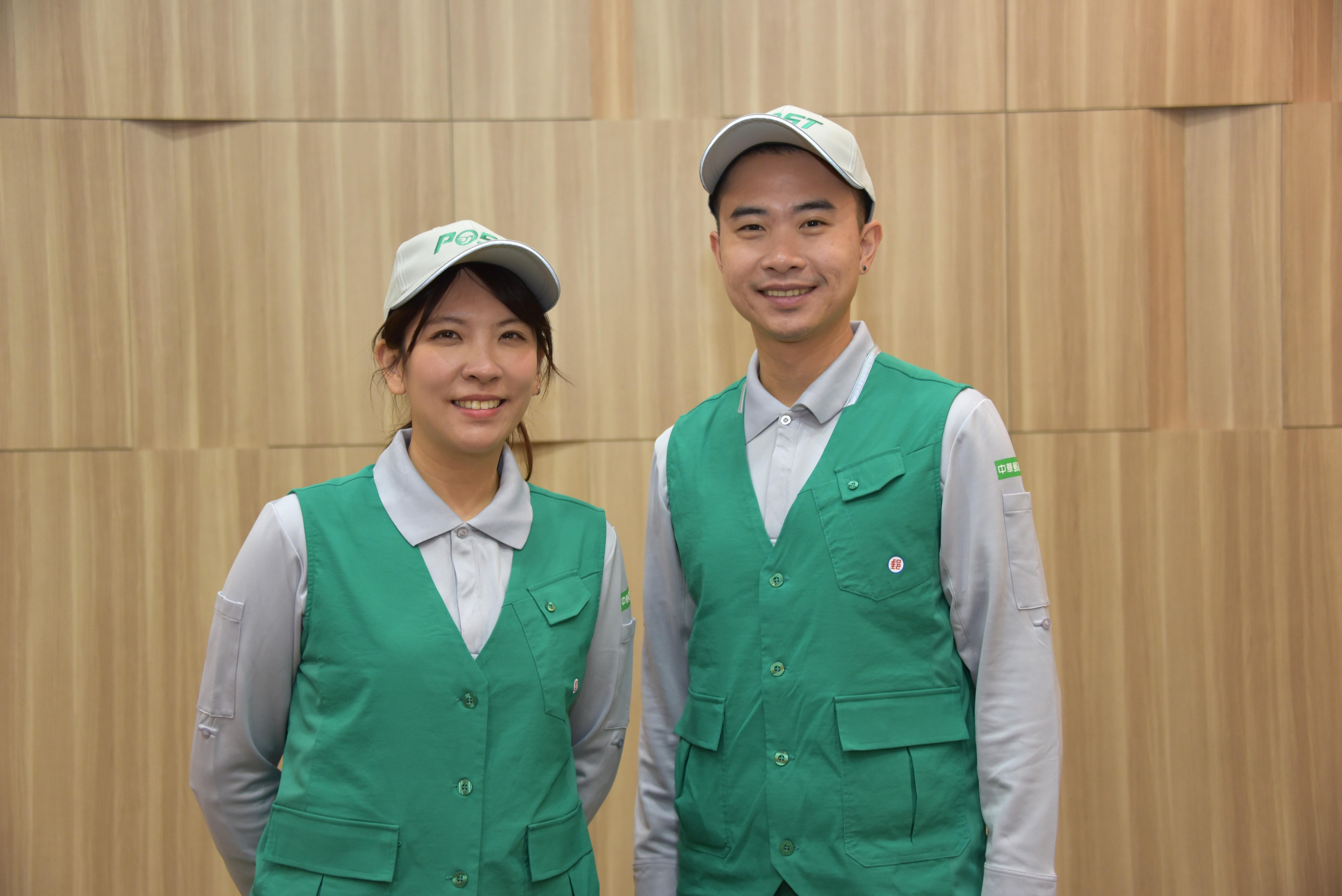 中華郵政新款郵差夏季制服