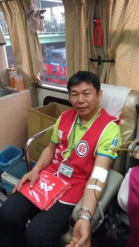 臺中郵局 「捐熱血 獻愛心」宣導活動