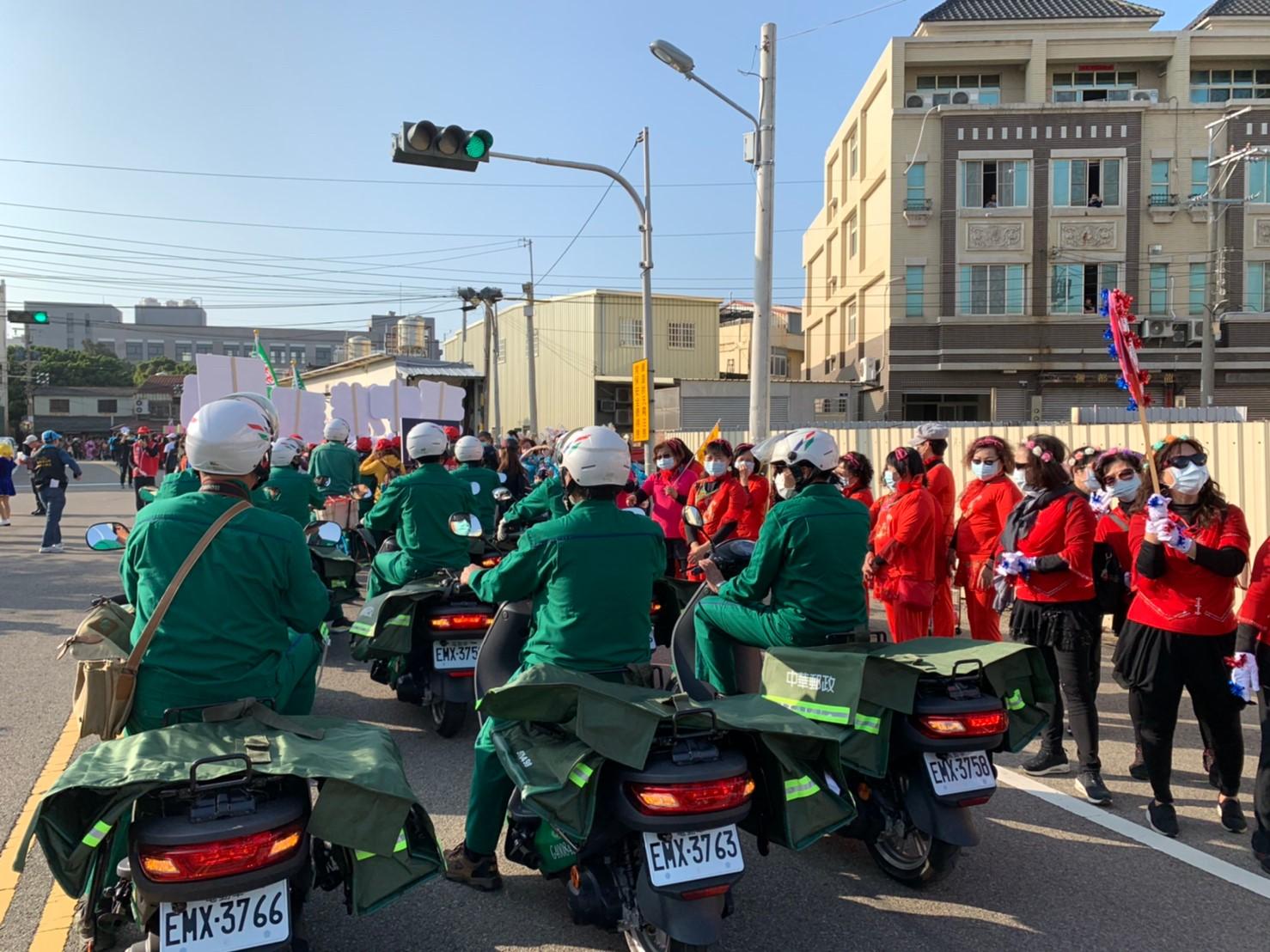 2月-臺中郵局宣導節能減排遊行活動