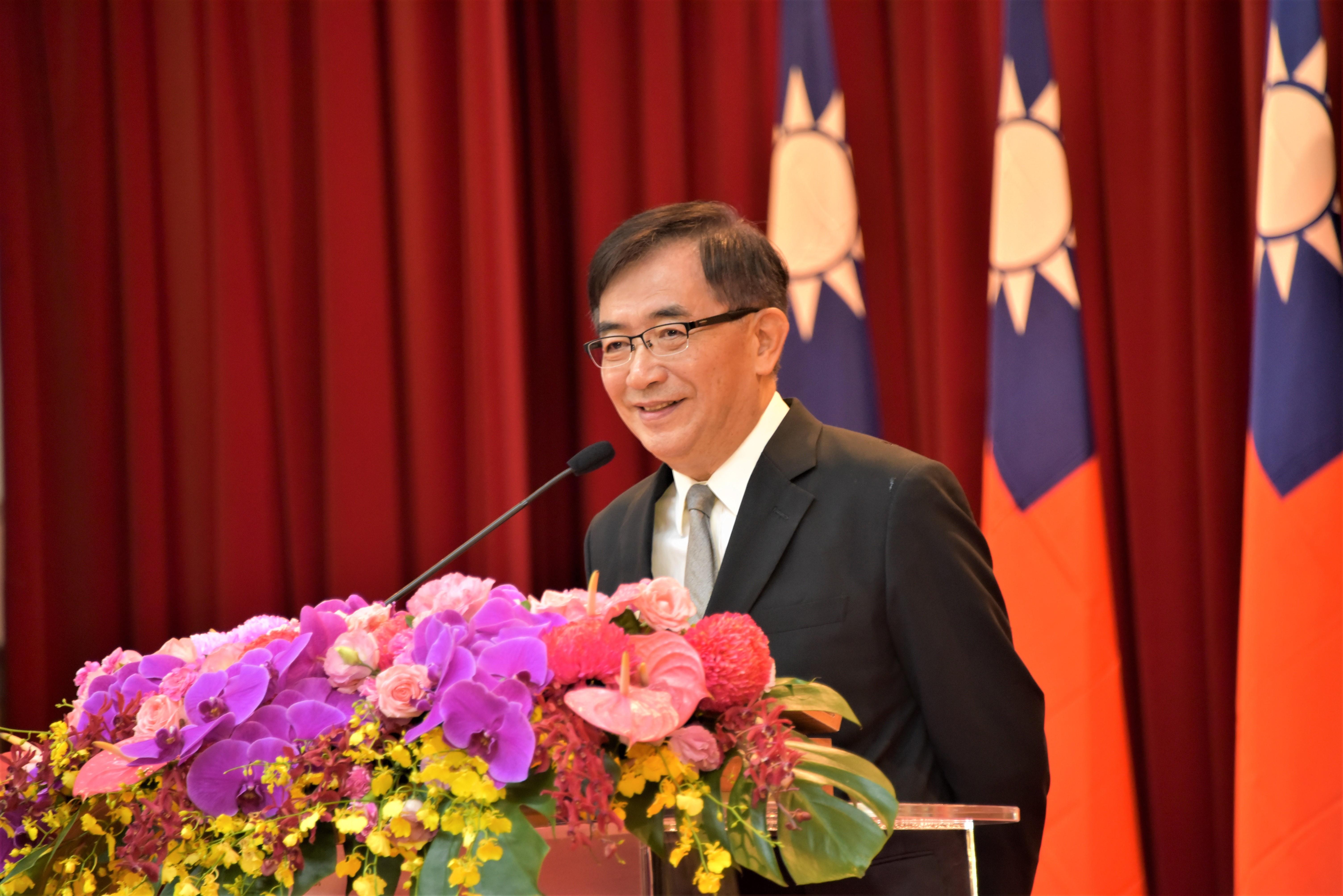 中華郵政公司董事長吳宏謀致詞