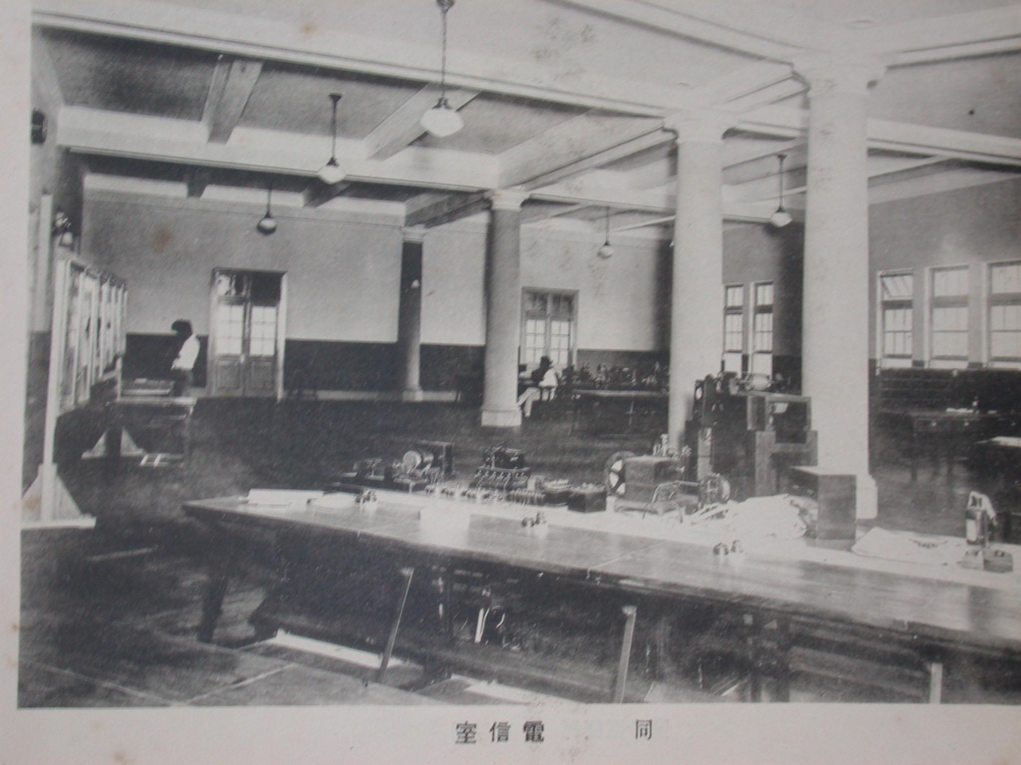 臺北郵局服務空間作業區