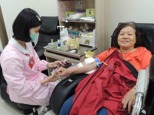 捐熱血獻愛心