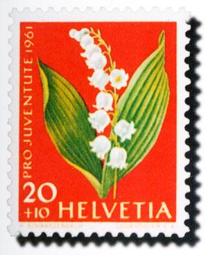 花卉郵票圖3-6