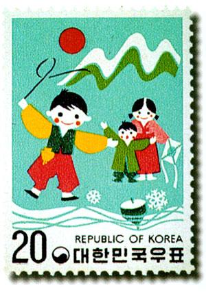 各國童玩郵票圖2-1