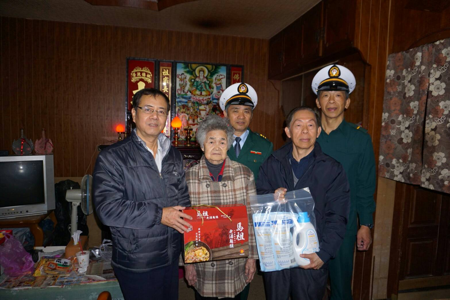 「郵政有愛 社區長青」郵遞關懷獨居長者活動