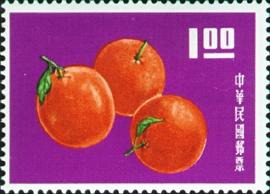 特030臺灣水果郵票