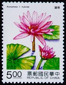 特318花卉郵票─水中花