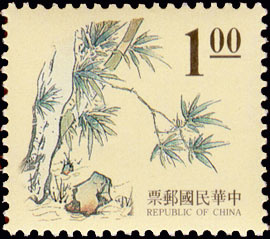 (D112.1)Definitive 112 Ancient Chinese Engraving Art Postage Stamps (1995)