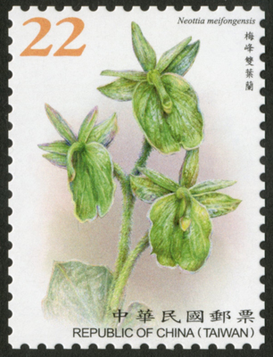 台湾2月27日发行常146台湾野生兰花邮票(续2)邮票