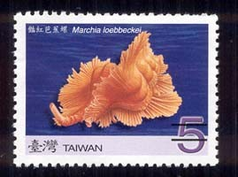 Sp.510  Seashells of Taiwan Postage Stamps (I)