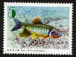 ( 特557.2)特557 臺灣魚類郵票(第1輯)
