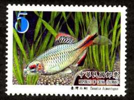 (特569.2)特569 臺灣魚類郵票(第2輯)