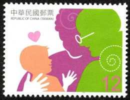 (特576.4 )特576  親情郵票