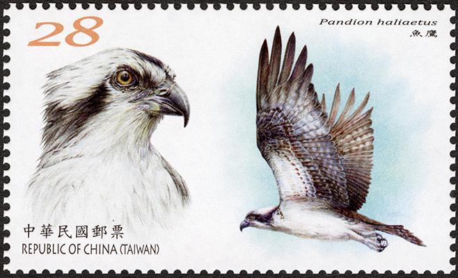 特702 保育鳥類郵票(109年版)